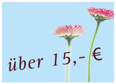 15,00€ & Höher