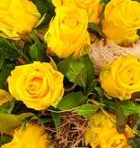 """Rosenstrauß """"Gelb"""""""