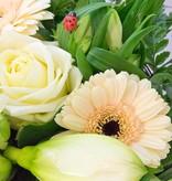 """Blumenstrauß """"Glückskäferle"""""""