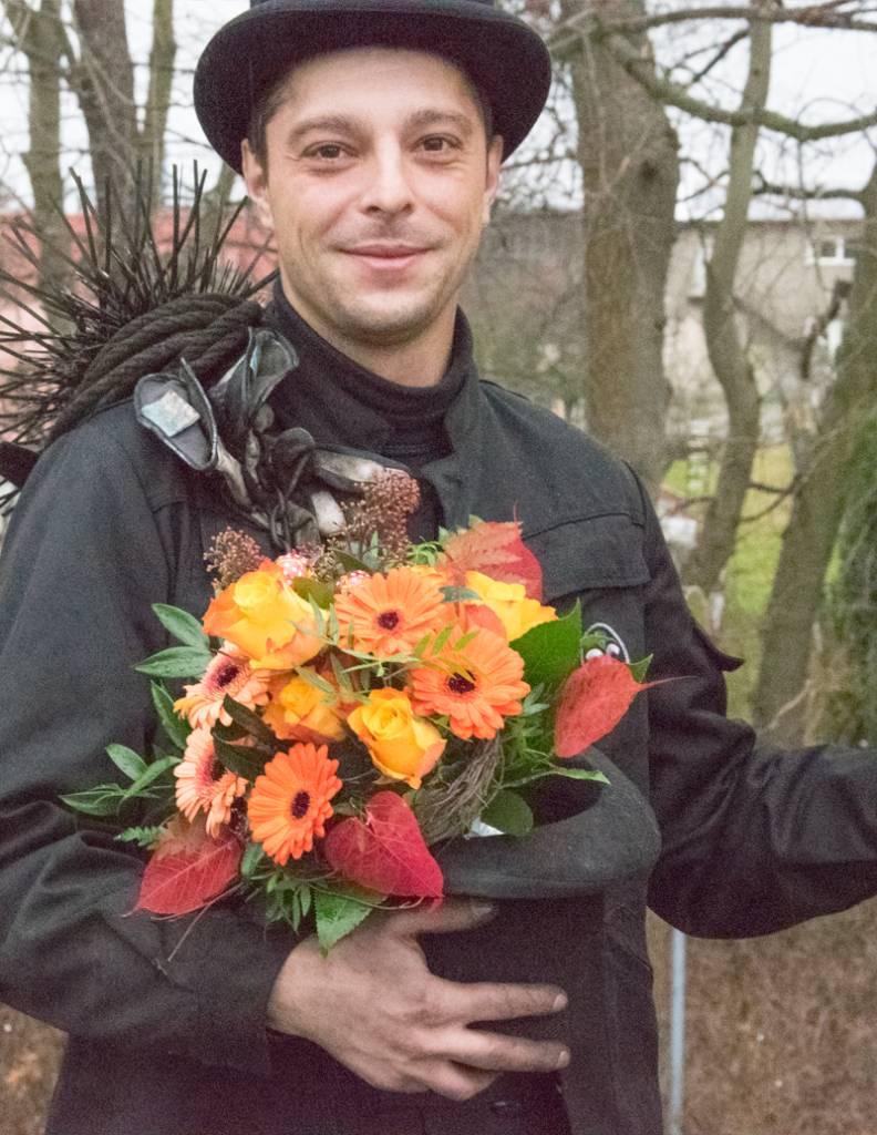 """""""Happy New Year"""" Blumenstrauß"""