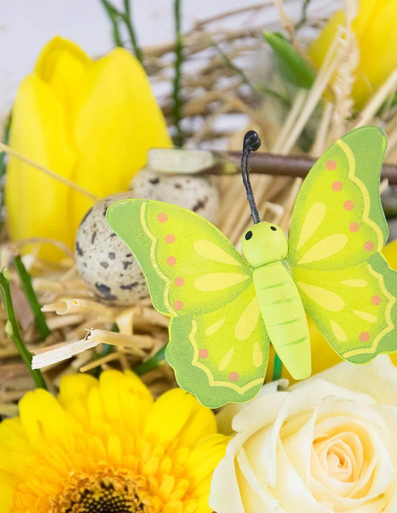 """Blumenstrauß """"Schmetterlingsglück"""""""