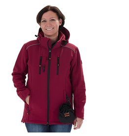 GoodBoy! GoodBoy! Damen Softshelljacke LUCY in bordeaux