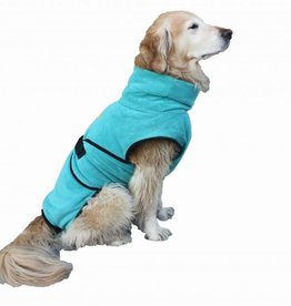 SuperFurDogs Chillcoat - Superfurdogs Hundebademantel türkis