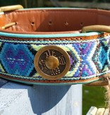 Dog with a mission® Gypsy Lederhalsband von Dog with a mission® L 4 cm