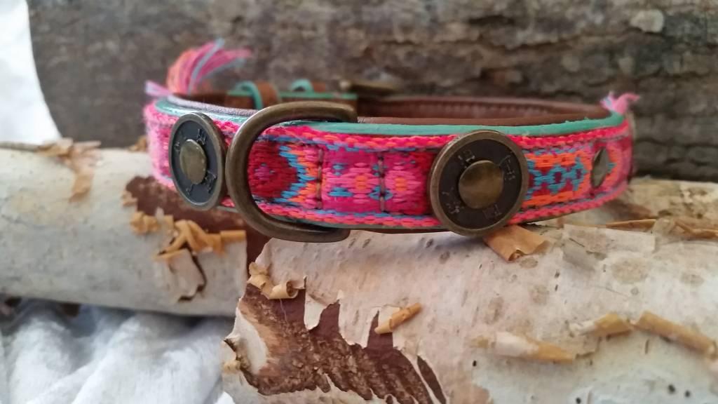 Gypsy Lederhalsband von Dog with a mission® S 2 cm