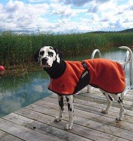 """Wollmantel für Hunde """"Willi"""" - orange"""