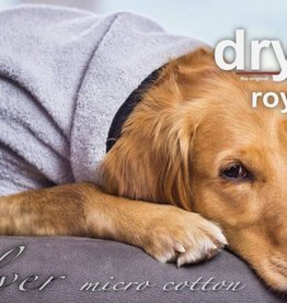 "Dryup Cape ROYAL"" Trockencape - Hundebademantel aus micro cotton"