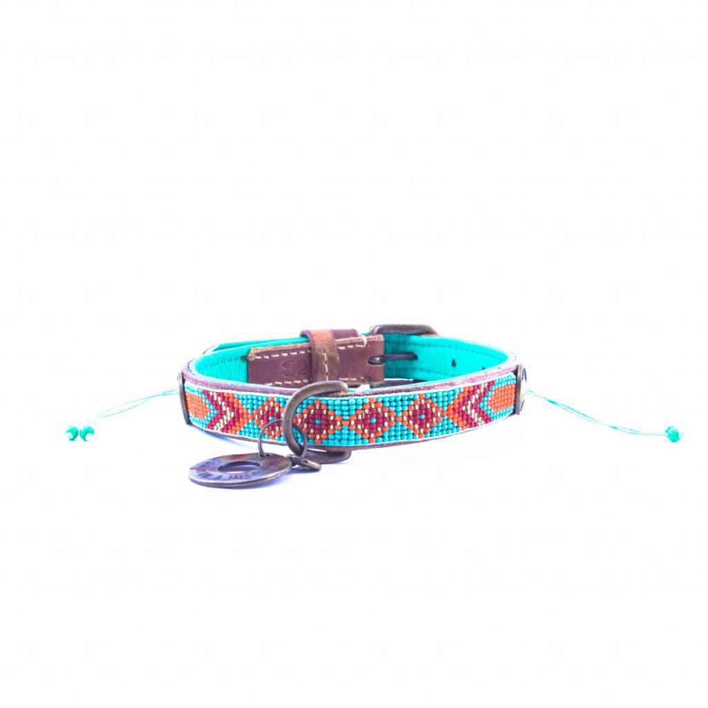 Dog with a mission® DWAM Lederhalsband Gypsy Paddy Lee S 2 cm