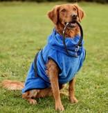 SuperFurDogs Hundebademantel Chillcoat Premium blau