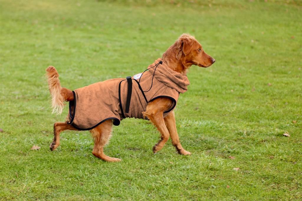 SuperFurDogs Chillcoat - Superfurdogs Hundebademantel anthrazit - Copy