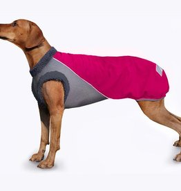"abc4dog Wintermantel ""Softshell"" Pink"