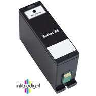 Dell inktpatroon Series 33 zwart (Huismerk)