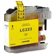 Brother Inktpatroon LC-223 yellow  (Huismerk)