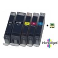 Canon inktpatronen CLI-526 / PGI-525 voordeelset met chip (Huismerk)