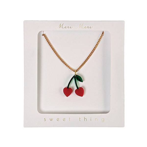 MERIMERI Cherry charme necklace