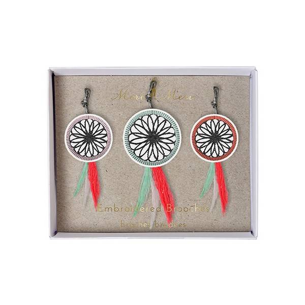 MERIMERI Dream catchers brooch