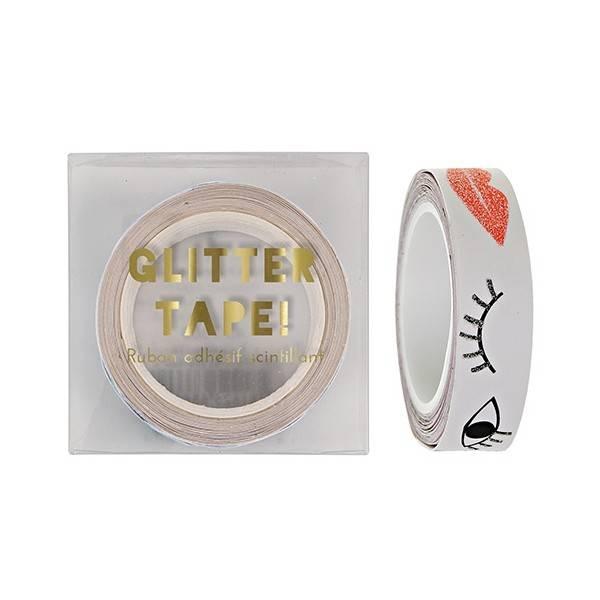 MERIMERI Lips and eyes glitter tape