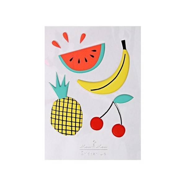 MERIMERI Fruit 3D stickers