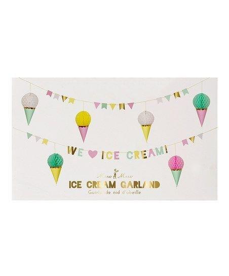 MERIMERI Ice Cream Garland