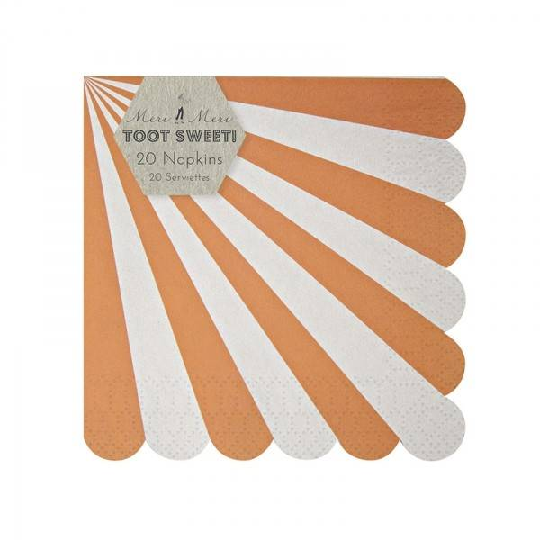 MERIMERI napkin orange
