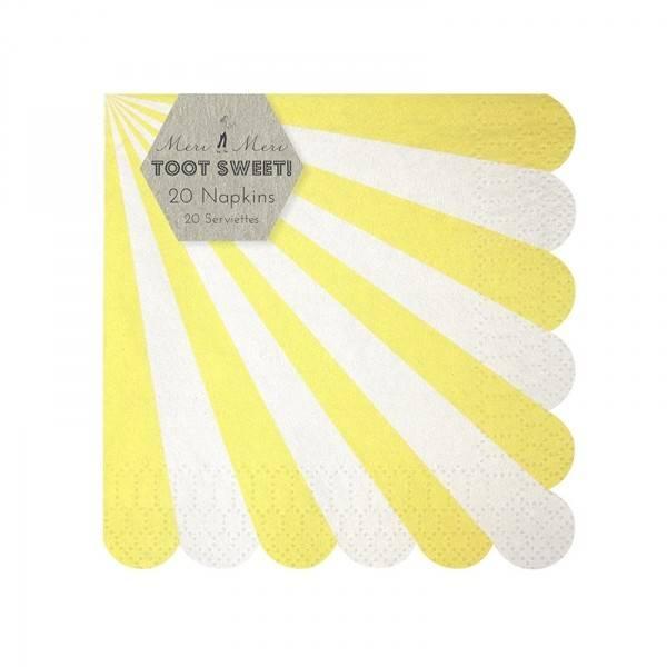 MERIMERI napkin yellow