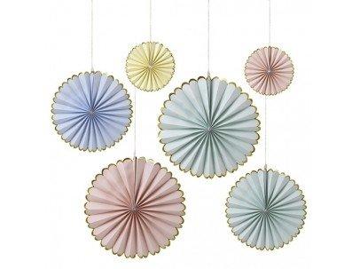 MERIMERI Pastel pinwheels