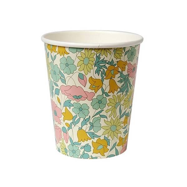 MERIMERI poppy & daisy party cup s/1