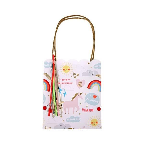 MERIMERI rainbow / unicorn party bags s