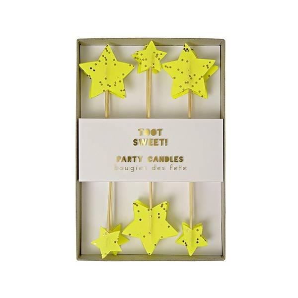 MERIMERI Toot Sweet Star Candles