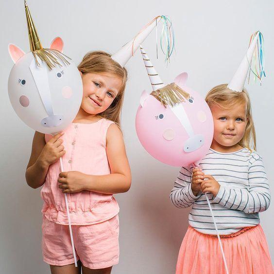 MERIMERI Unicorn balloon kit