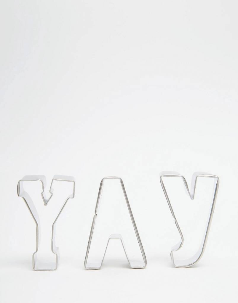 MERIMERI Yay cookie cutters