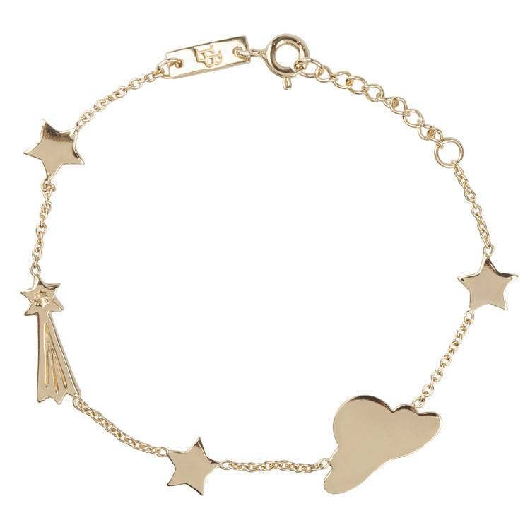 LENNEBELLE Stargazer Daughter bracelet gold