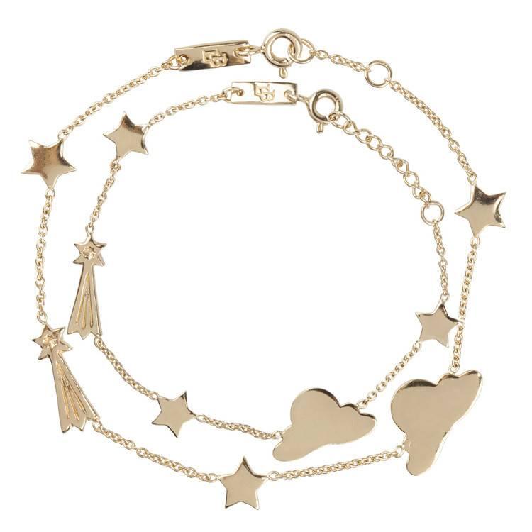 LENNEBELLE stargazer bracelet daughter gold plated
