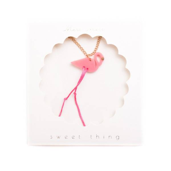 MERIMERI Flamingo Necklace