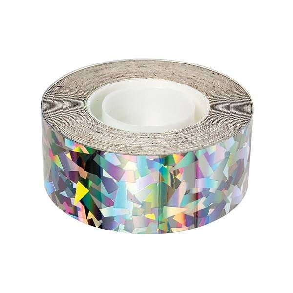 MERIMERI Sparkly silver foil tape