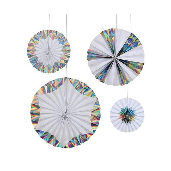 MERIMERI Giant holographic pinwheels