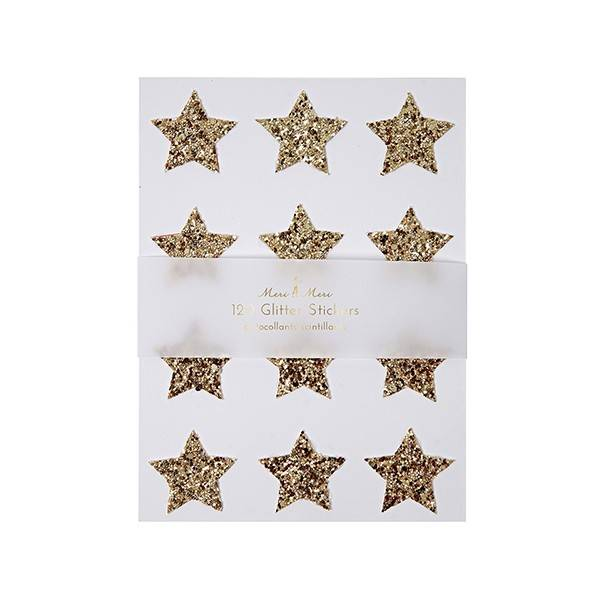 MERIMERI Gold star stickers