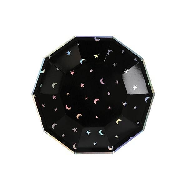 MERIMERI Star and moon plates S