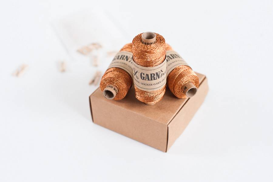 Garn & Mehr bakers twine copper