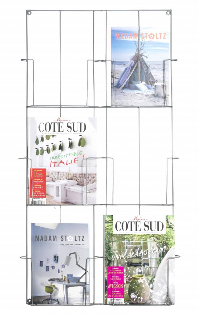MADAM STOLTZ magazine rack