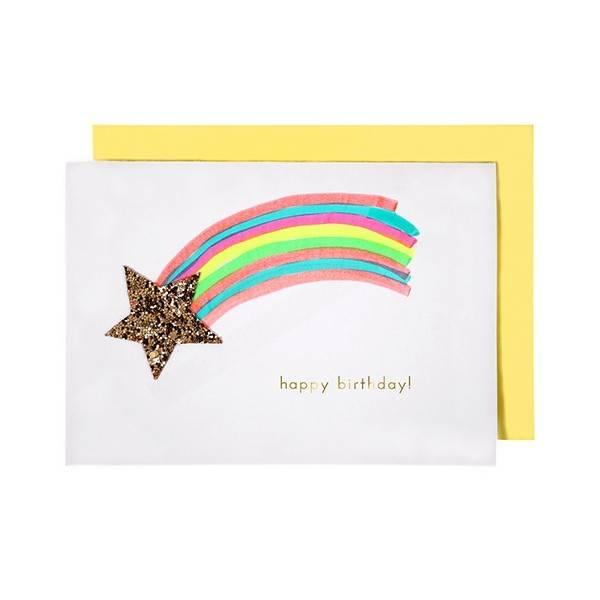 MERIMERI Shooting star card