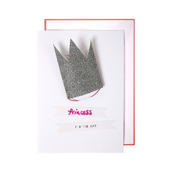MERIMERI Princess crown card