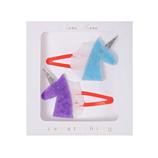 MERIMERI Unicorn hair clips