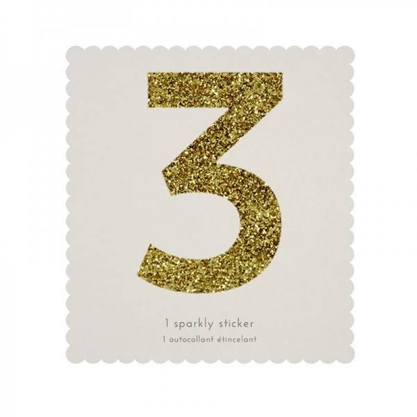 MERIMERI Glitter alphabet stickers 3