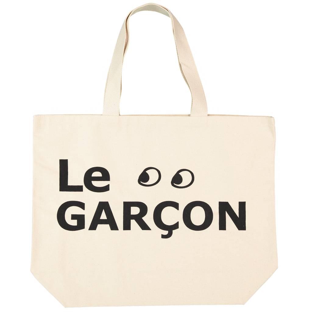 ATSUYO ET AKIKO grand canvas bag - le garcon in natural