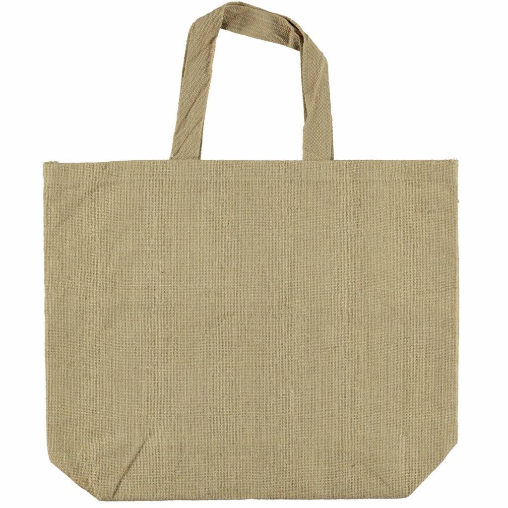 ATSUYO ET AKIKO a la mer jute beach bag - large