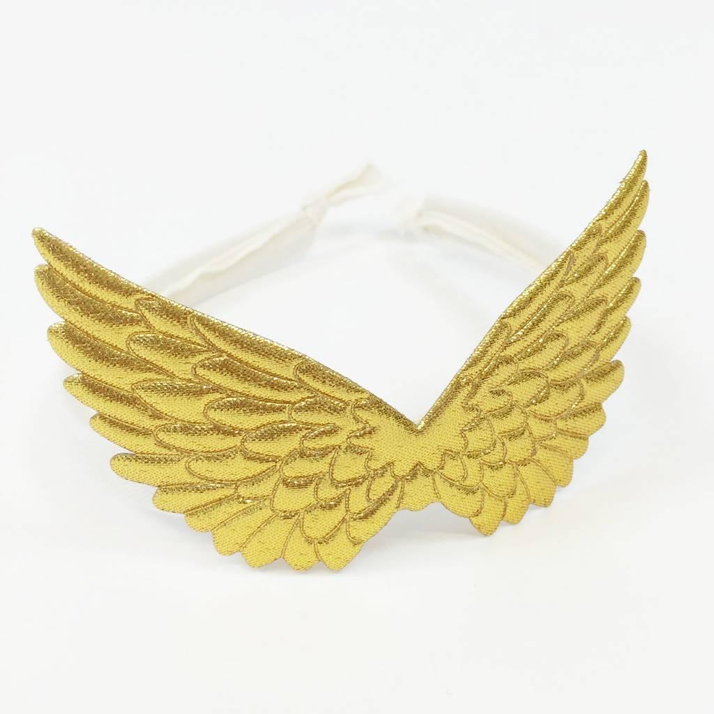 ATSUYO ET AKIKO pegasus headband gold / ivory