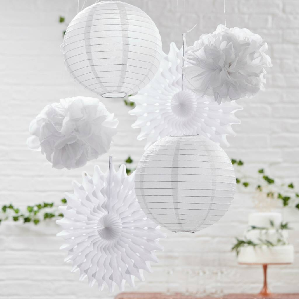 GINGERRAY Hanging Decorations - Mixed - White