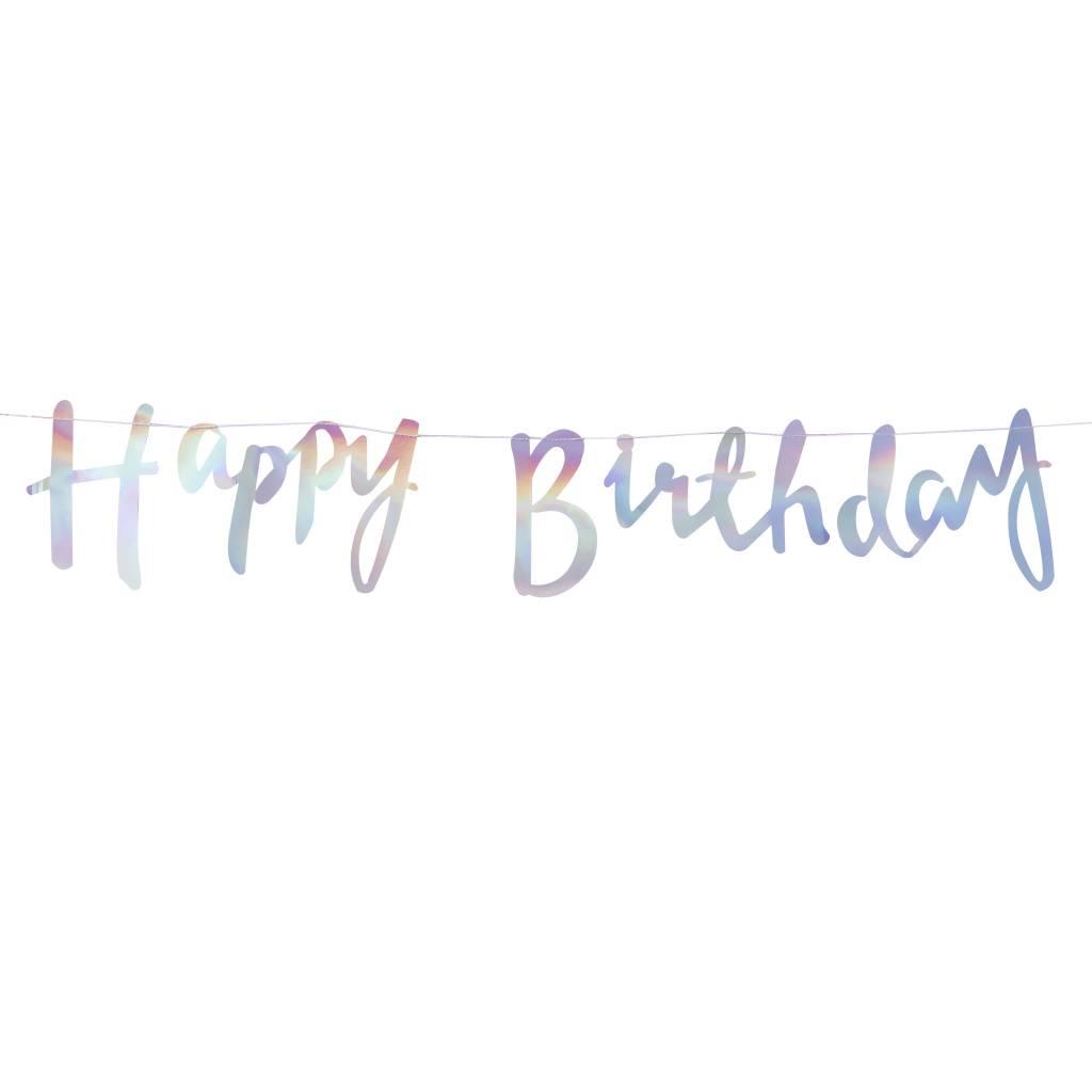 GINGERRAY Bunting - Happy Birthday