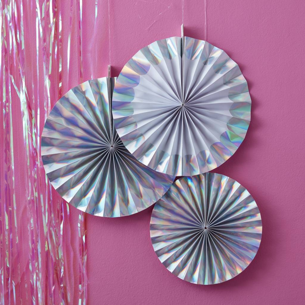 GINGERRAY Fan Decorations - holographic